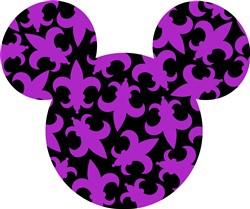 New Orleans Mickey print art