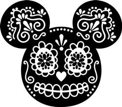 Day Of Dead Mickey print art