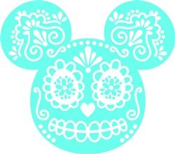 Day Of The Dead Mickey print art