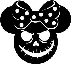 Halloween Minnie print art