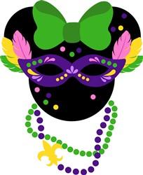 Carnival Minnie print art