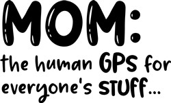 The Human GPS print art