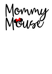 Mommy Mouse print art