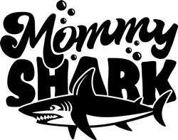 Mommy Shark print art