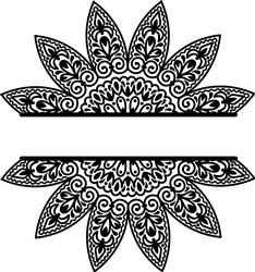Namedrop Flower print art