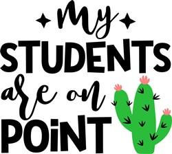 Students On Point print art