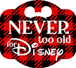 Never Too Old print art