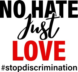 No Hate print art