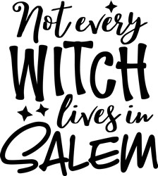 Not Every Witch print art