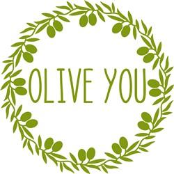 Olive You print art