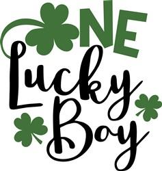One Lucky Boy print art
