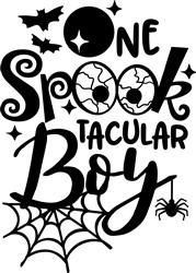 Spooktacular Boy print art