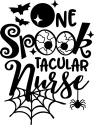 Spooktacular Nurse print art