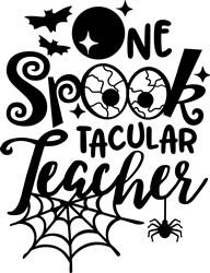 Spooktacular Teache print art