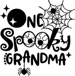 Spooktacular Grandma print art