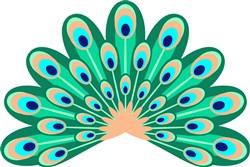 Peacock Feathes print art
