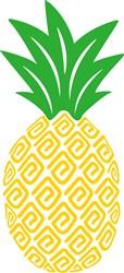 Pineapple print art
