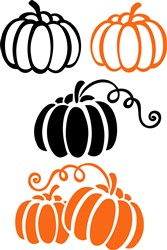 Fall Pumpkins print art