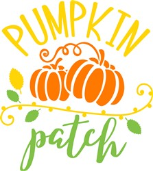 Pumpkin Patch print art