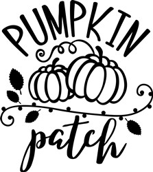 Pumpkin Patch print art