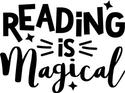 Reading Is Magical print art