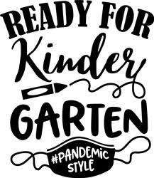 Ready For Kindergarten print art