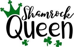 Shamrock Queen print art