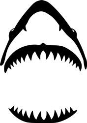 Shark Teeth print art