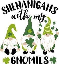 Shenanigans With Gnomies print art