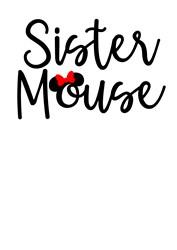 Sister Mouse print art