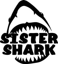 Sister Shark print art