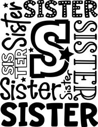 Sister print art