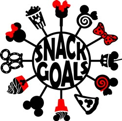 Snack Goals print art