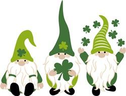 Shamrock Gnomes print art