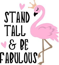 Stand Tall print art