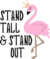 Stand Out print art