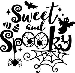 Sweet And Spooky print art