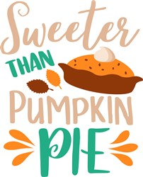 Pumpkin Pie print art