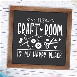 Craft Room print art