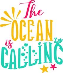 Ocean Is Calling print art