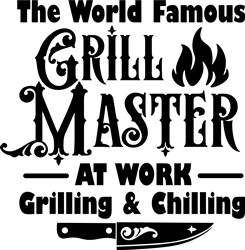 Famous Grill Master print art