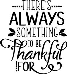 Be Thankful print art