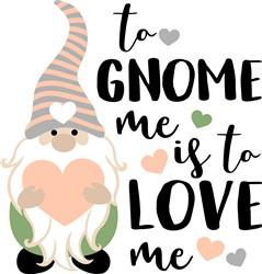 To Gnome Me print art