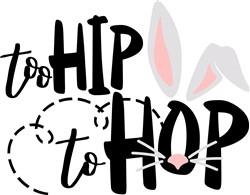 Too Hip To Hop print art