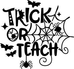 Trick Or Teach print art