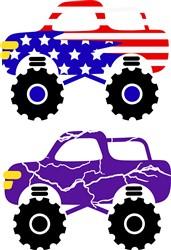 USA Trucks print art