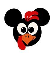 Mickey Turkey print art