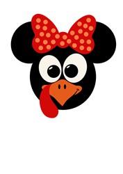 Minnie Turkey print art