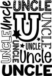 Uncle print art