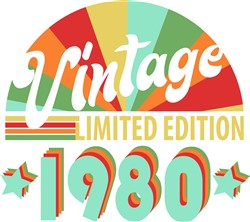 Vintage 1980 print art